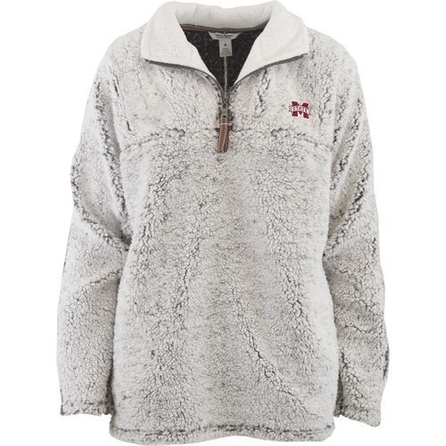 Three Squared Juniors' Mississippi State University Poodle Pullover Jacket