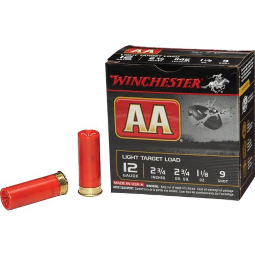 Display product reviews for Winchester AA Target Load 12 Gauge 9 Shotshells