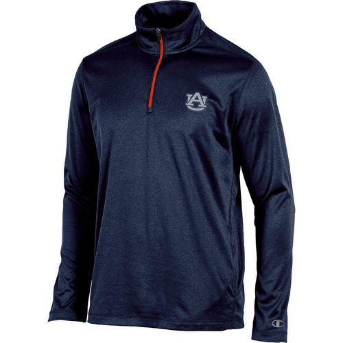 Champion Men's Auburn University Victory 1/4 Zip Pullover Hoodie