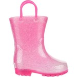 Austin Trading Co. Toddler Girls' Lighted PVC Glitter Boots - view number 1