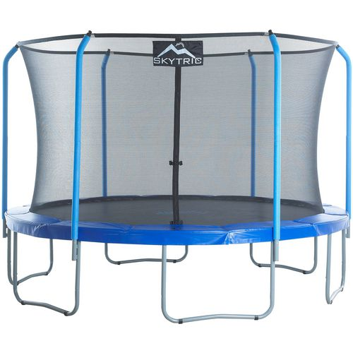 Upper Bounce SKYTRIC 11 ft Round Trampoline with Top Ring Enclosure System - view number 7