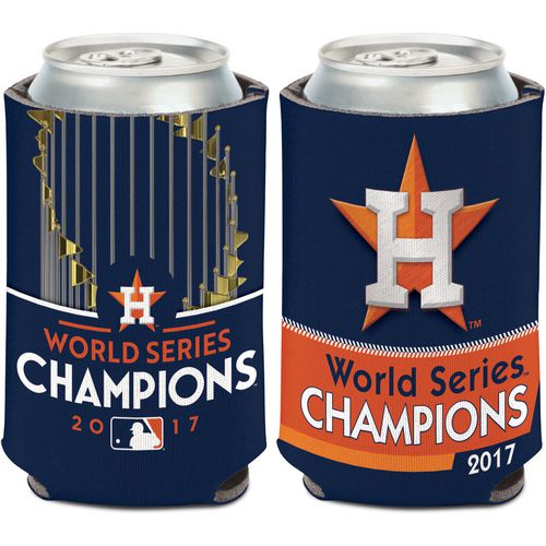 WinCraft Astros 2017 World Series Champions Logo Can Cooler