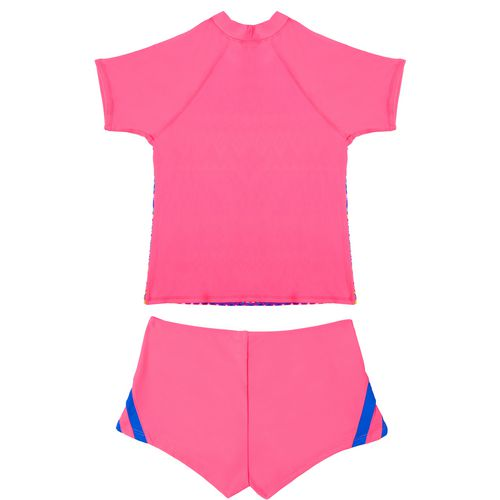 O'Rageous Girls' Deco Line 2-Piece Rash Guard Set - view number 2