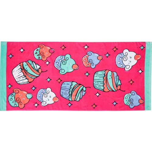 O'Rageous Cupcake Beach Towel
