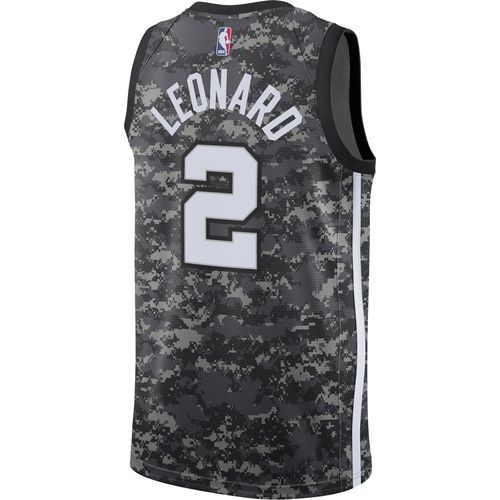 Nike Men's San Antonio Spurs Kawhi Leonard 2 City Edition SWGMN Jersey