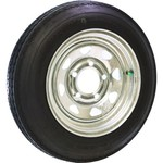 Malone Auto Racks 12 in Galvanized Spare Tire with Locking Attachment - view number 1