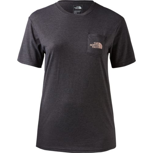 The North Face Women's Short Sleeve Tri-Blend Pocket T-shirt