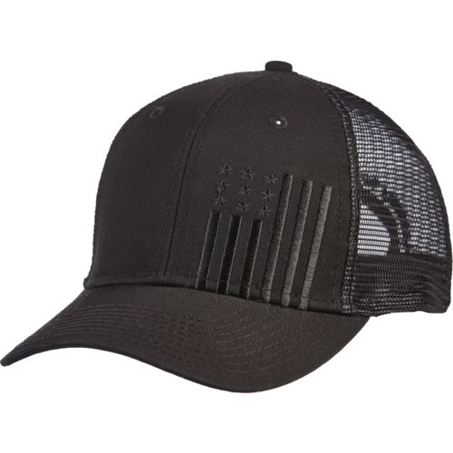 Display product reviews for Academy Sports + Outdoors Men's Flag Trucker Hat