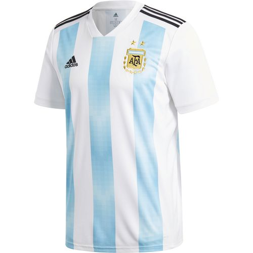 adidas Men's Argentina Home Replica Soccer Jersey