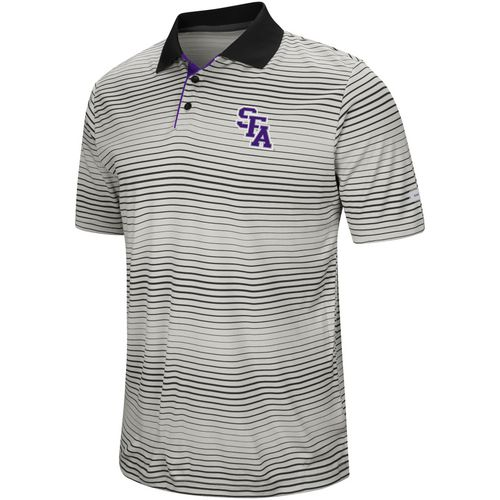 Colosseum Athletics Men's Stephen F. Austin State University Lesson Number One Polo Shirt