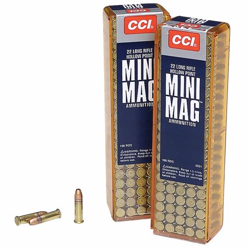 CCI® Mini-Mag® .22 LR Copper-Plated Hollow Point Ammunition - view number 2