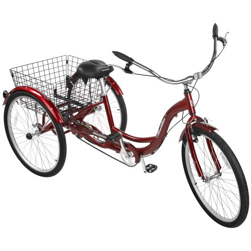 "Display product reviews for Schwinn® Adults' Meridian 26"" Tricycle"