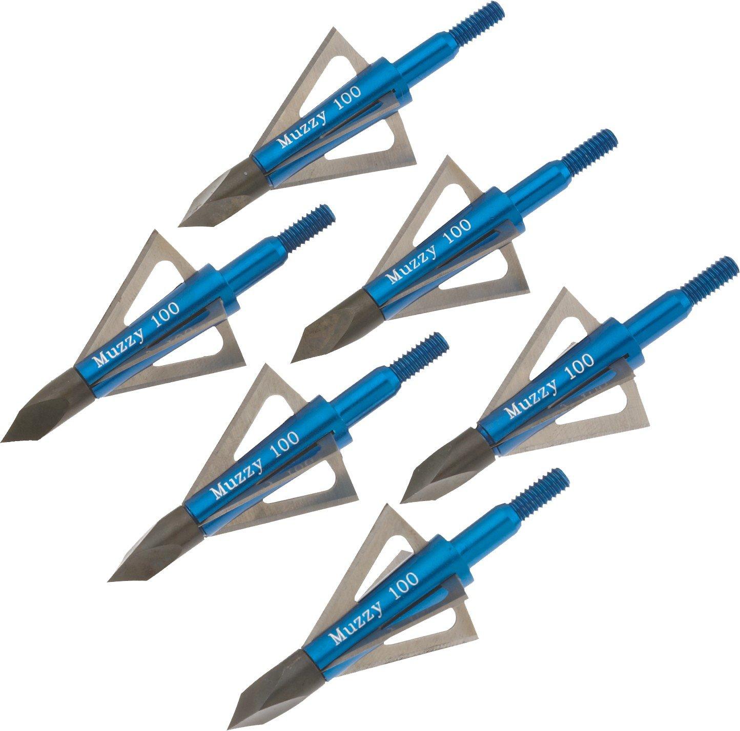 Muzzy 4-Blade Broadheads 6-Pack