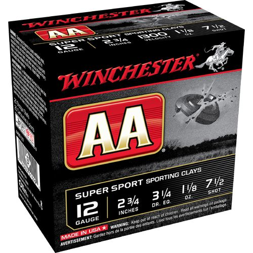Winchester AA Super Sport Target Load 12 Gauge Shotshells - view number 1
