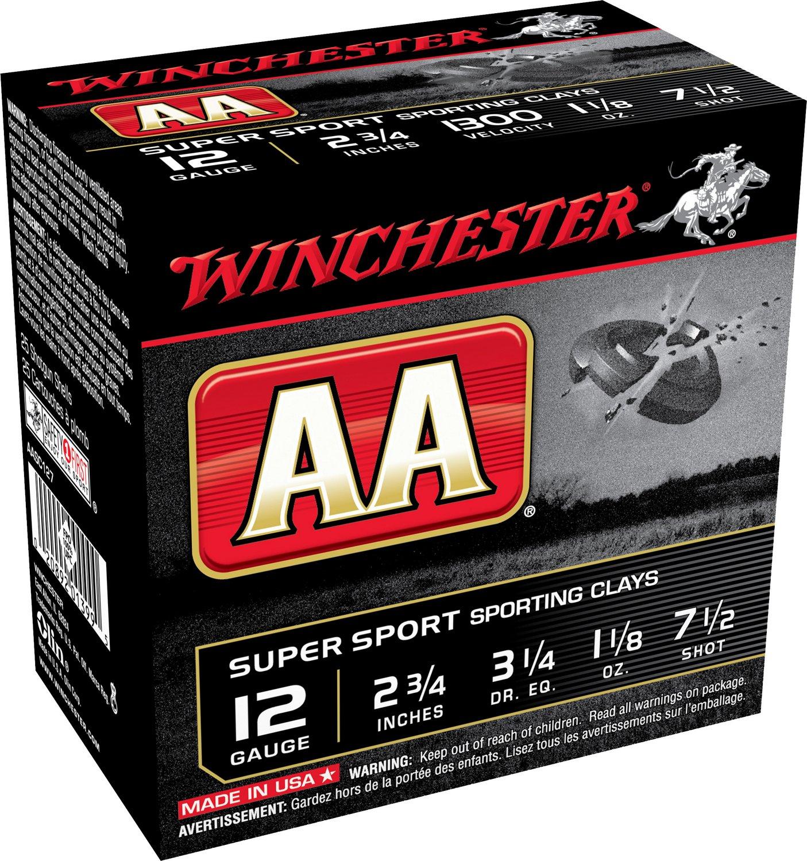 Winchester AA Super Sport™ Target Load 12 Gauge 7.5 Shotshells