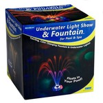 AquaGlow Mini Underwater Light Show and Fountain