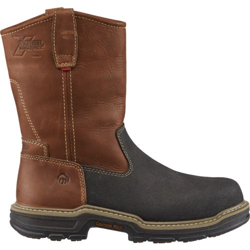 Display product reviews for Wolverine Men's Multishox Contour Welt Work Boots
