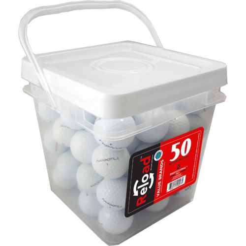 Reload™ Recycled Golf Balls 50-Bucket
