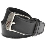Browning Men's Beveled Stitched Leather Belt