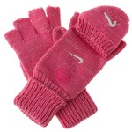 Nike Girls' Lurex Convertible Gloves