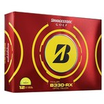 Bridgestone Golf B330-RX Series Yellow Golf Balls 12-Pack