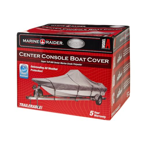 Marine Raider Model A 600-Denier Center Console Cover Fits 17' - 19' Center Console Boats - view number 2