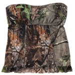 Realtree Junior's APG Bandeaukini Swim Top