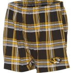 Concepts Sport Men's University of Missouri Millennium Plaid Boxer