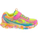 SKECHERS Girls' Synergy Kickety Kick Athletic Lifestyle Shoes