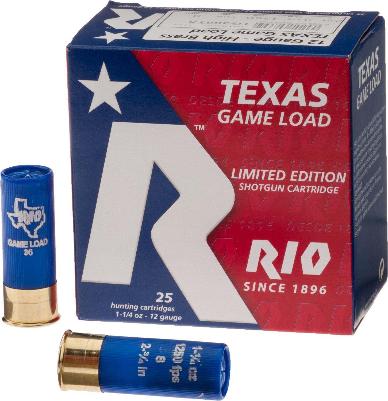 Rio Game Load 36 12 Gauge Shotshells