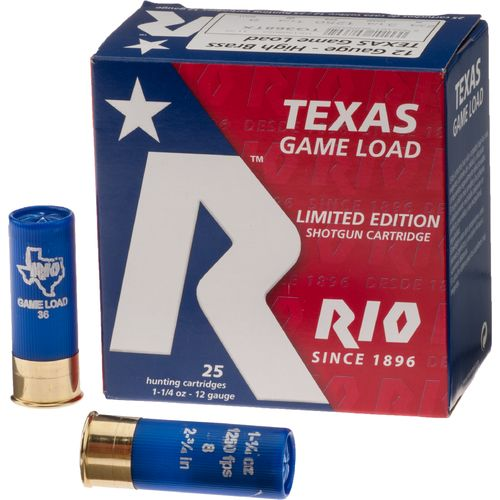 Rio Game Load 36 12 Gauge 8 Shotshells