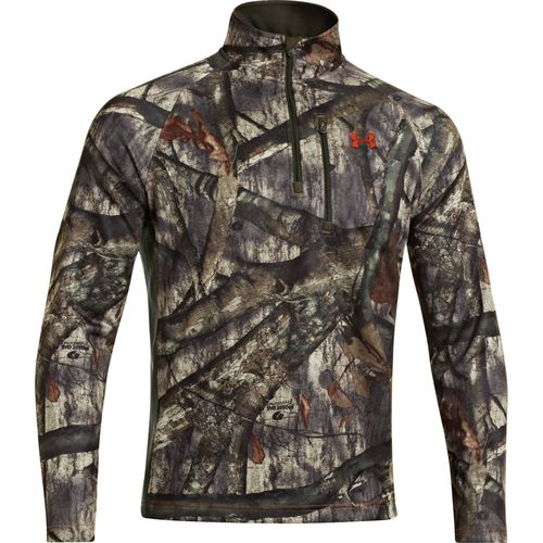 Under Armour  Men s Camo Performance 1/4 Zip Pullover