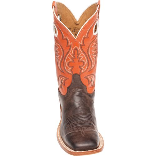 Justin Men's Bent Rail America Cow Western Boots - view number 4