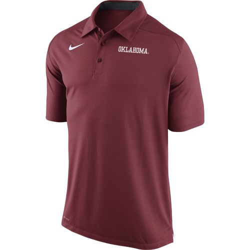Nike Men's University of Oklahoma Game Time Polo Shirt