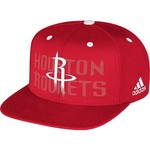 adidas Adults' Houston Rockets Authentic Draft Strapback Cap