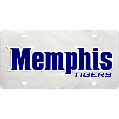 Stockdale University of Memphis Inlaid Acrylic License Plate