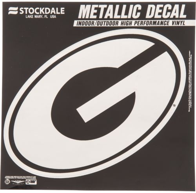 Stockdale University of Georgia Metallic Decal