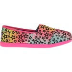 SKECHERS Girls' Lil Bobs Ombre Stars Casual Shoes
