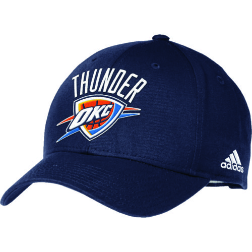 adidas™ Adults' Oklahoma City Thunder Structured Adjustable Cap