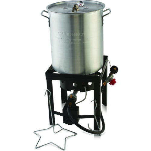 The Outdoor Gourmet 30 qt Deluxe Turkey Fryer Kit