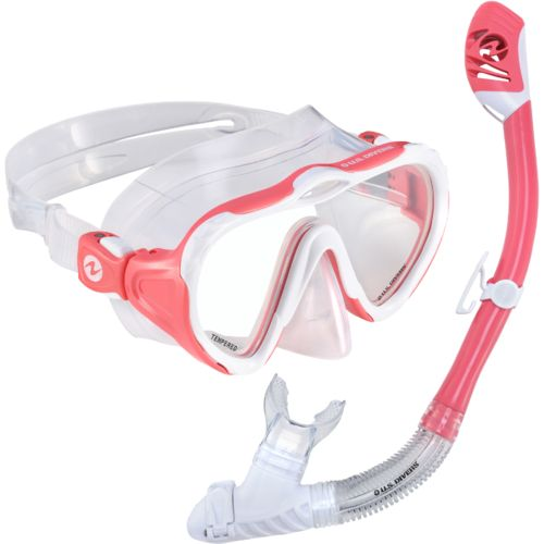 U.S. Divers Women's Starlett LX Mask and Tucson Snorkel Combo Pack
