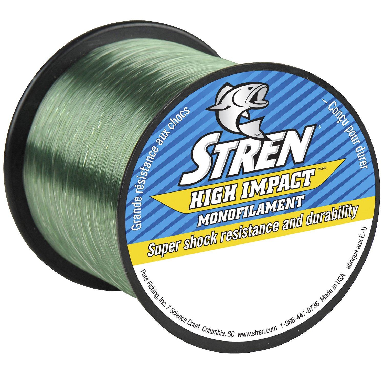 Stren high impact 10 lb 1 275 yards monofilament for Free line fishing