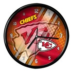 The Memory Company Kansas City Chiefs Clock