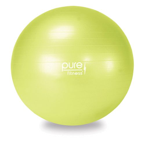 Pure Fitness 55 cm Fitness Ball with Pump