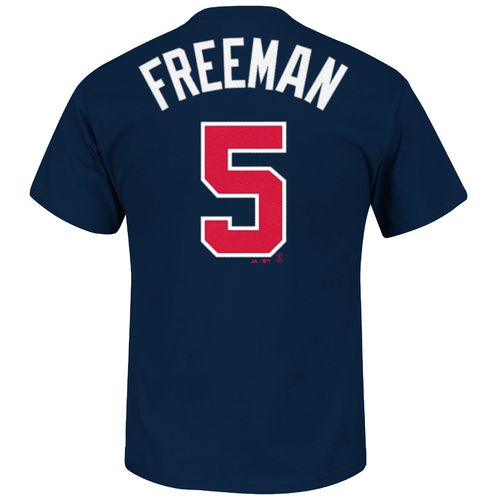 Majestic Men's Atlanta Braves Freddie Freeman #5 Official T-shirt