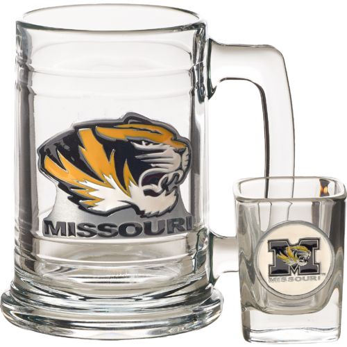 Great American Products University of Missouri 2-Piece Tankard and Shot Glass Set