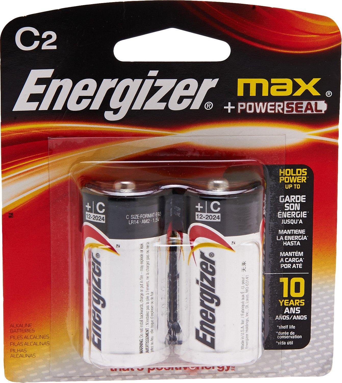 Energizer® MAX® C Batteries 2-Pack