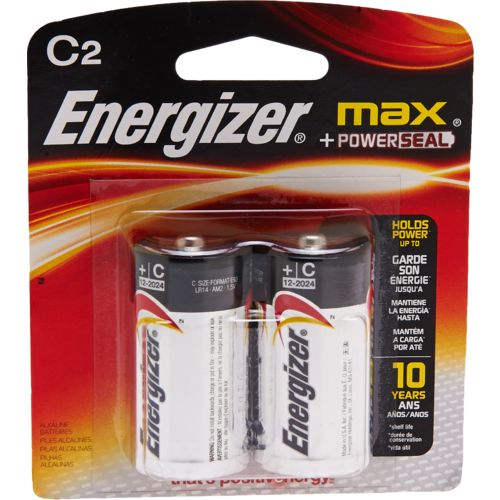 Energizer® MAX® C Batteries 2-Pack