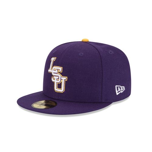 New Era Men's Louisiana State University 59FIFTY Cap