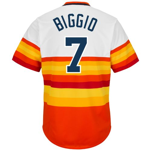 Majestic Men's Houston Astros Craig Biggio #7 Replica